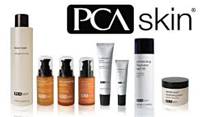 PCA skincare products available from Dunkirk Aesthetics